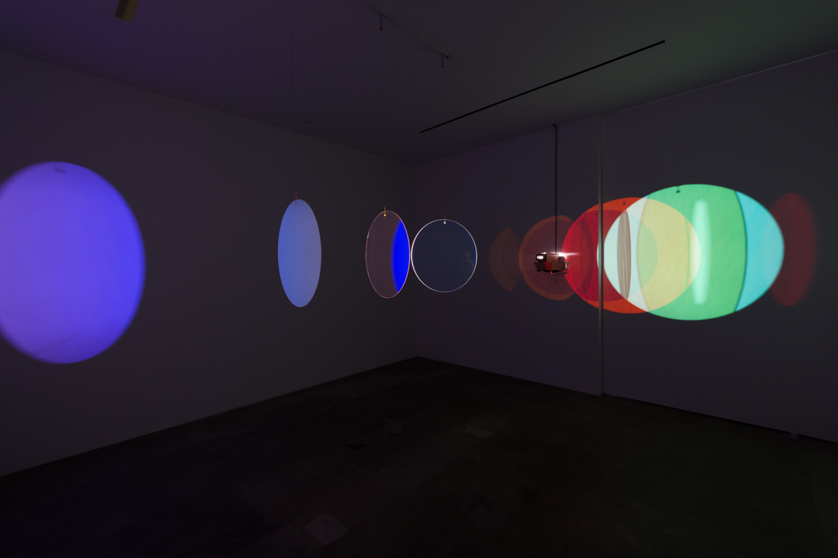 Olafur ELIASSON Retinal flare space 2018 Color-eff...