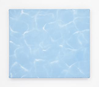 Dana POWELL Pool 2016 Oil on linen 12 x 14 inches;...