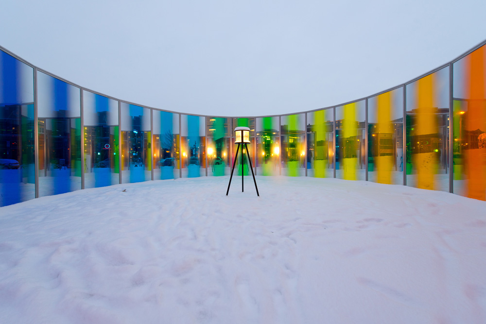 Olafur Eliasson Panoramic awareness pavilion 2013...
