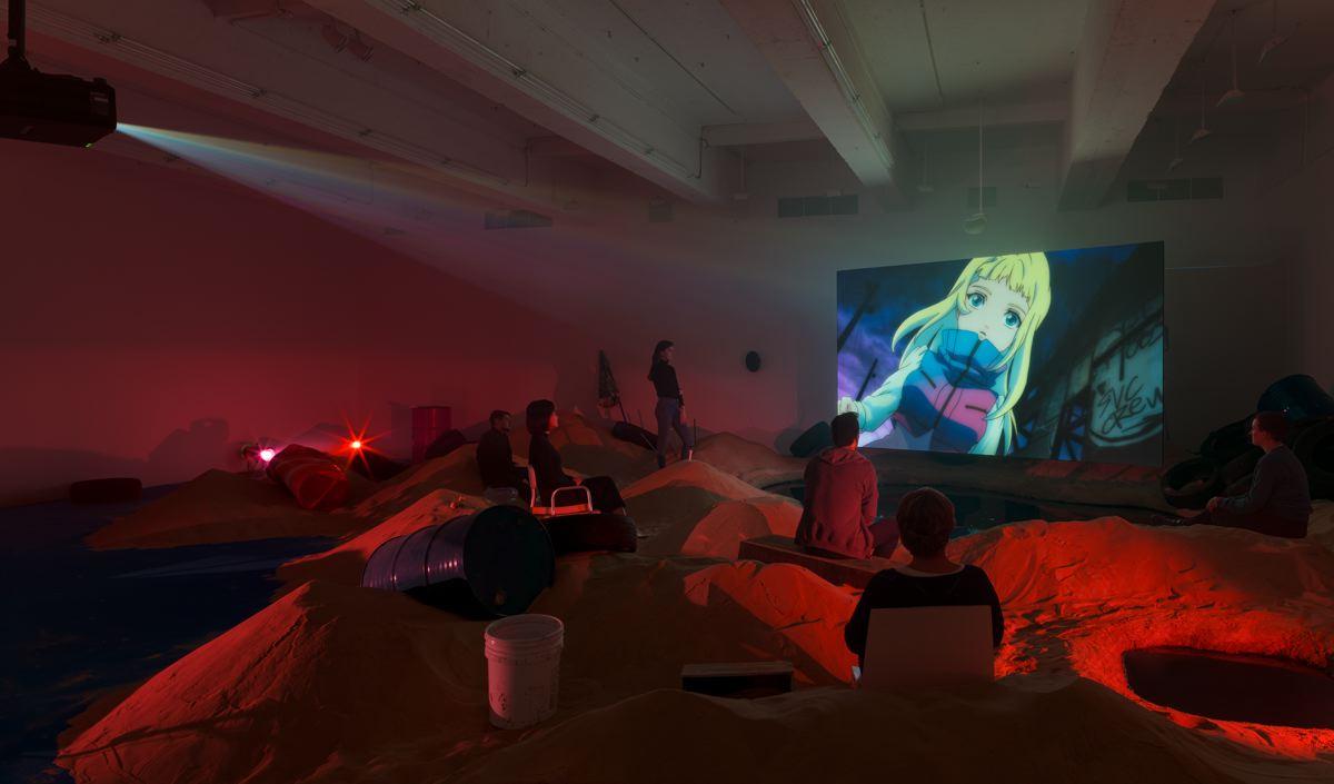Phil COLLINS Delete Beach 2016 HD animation, colou...