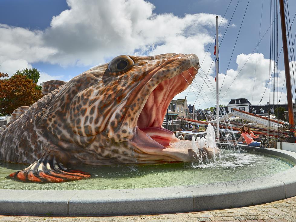 MARK DION: FISH FOUNTAIN FOR STAVOREN