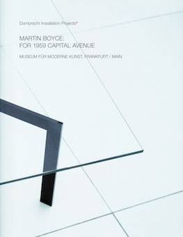 Martin Boyce: For 1959 Capital Avenue
