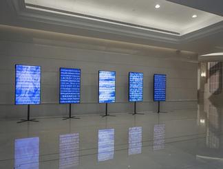 Liu Shiyuan Love Poem 2015 video installation 20&#...
