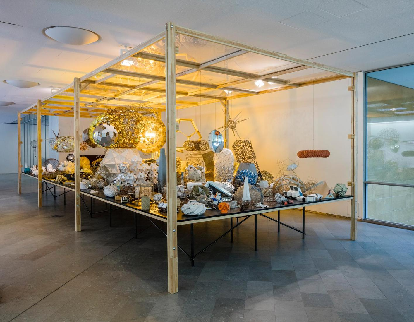 Olafur Eliasson Model room 2003 chipboard display...