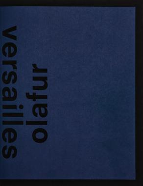 Olafur Eliasson : Versailles