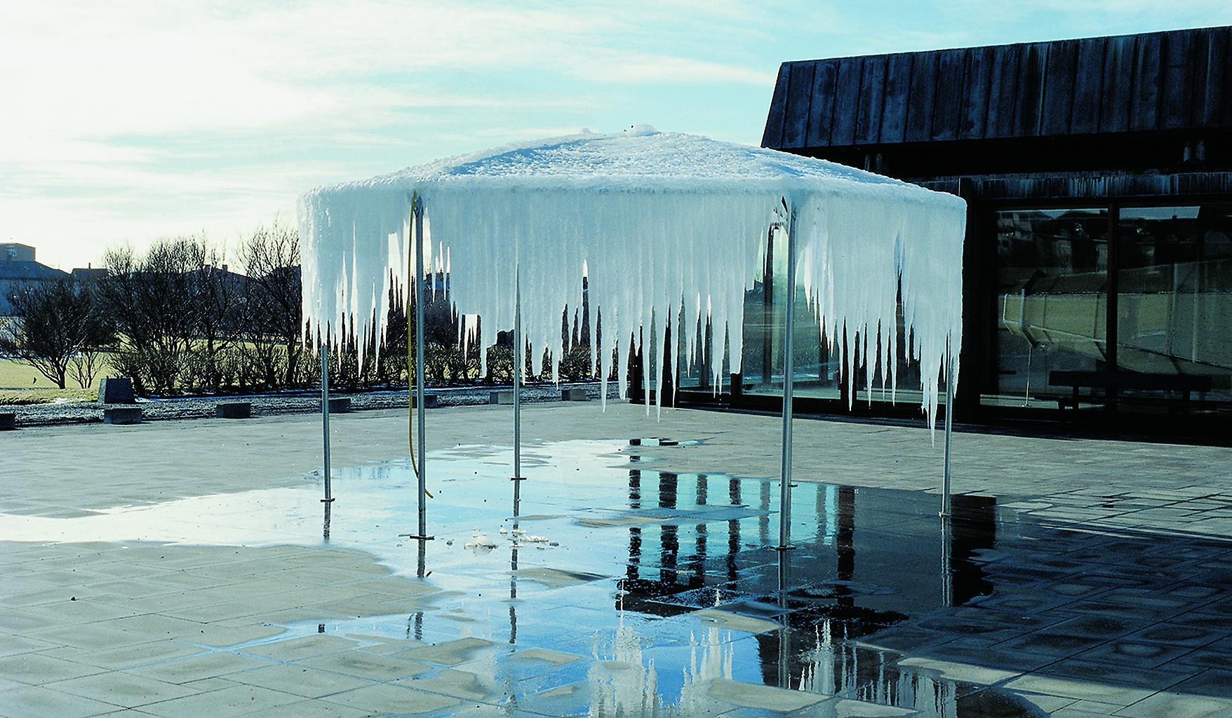Olafur Eliasson Ice pavilion 1998 stainless steel,...