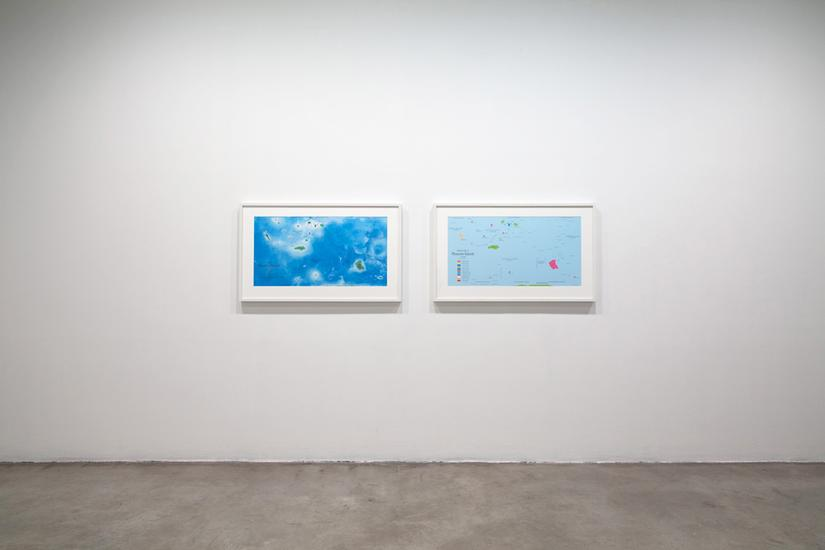 Agnieszka KURANT Map of Phantom Islands (Left) 201...