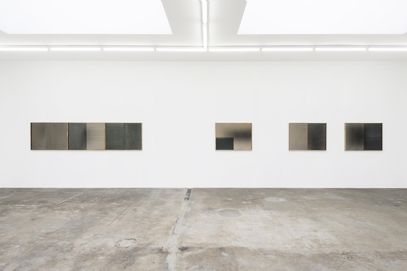 This is an installation image of Lisa Oppenheim's...