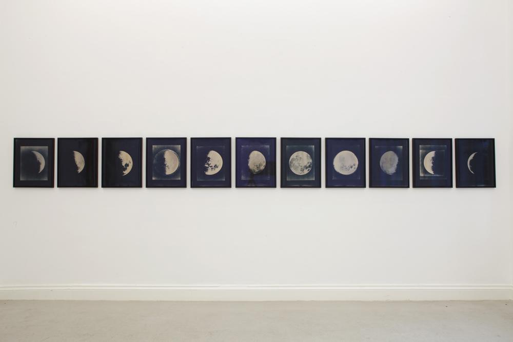 Lisa Oppenheim Lunagrams, 2010 Unique silver toned...