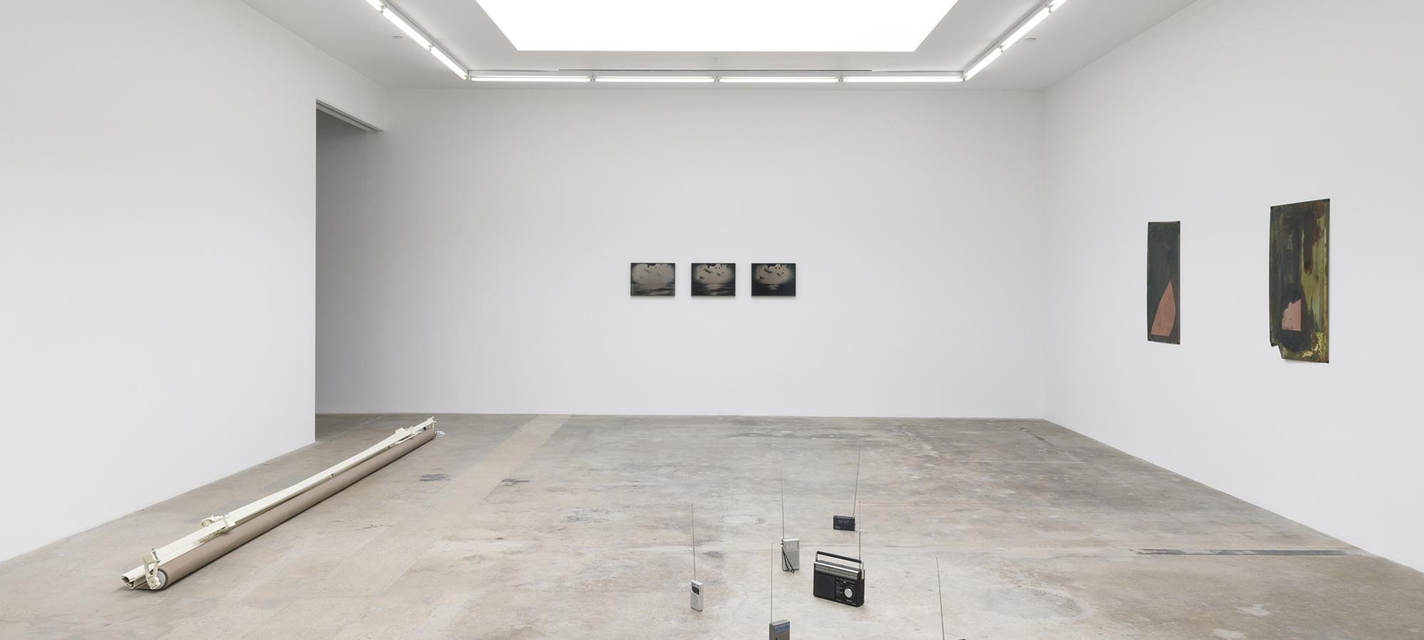 Installation view of Living in a lightbulb