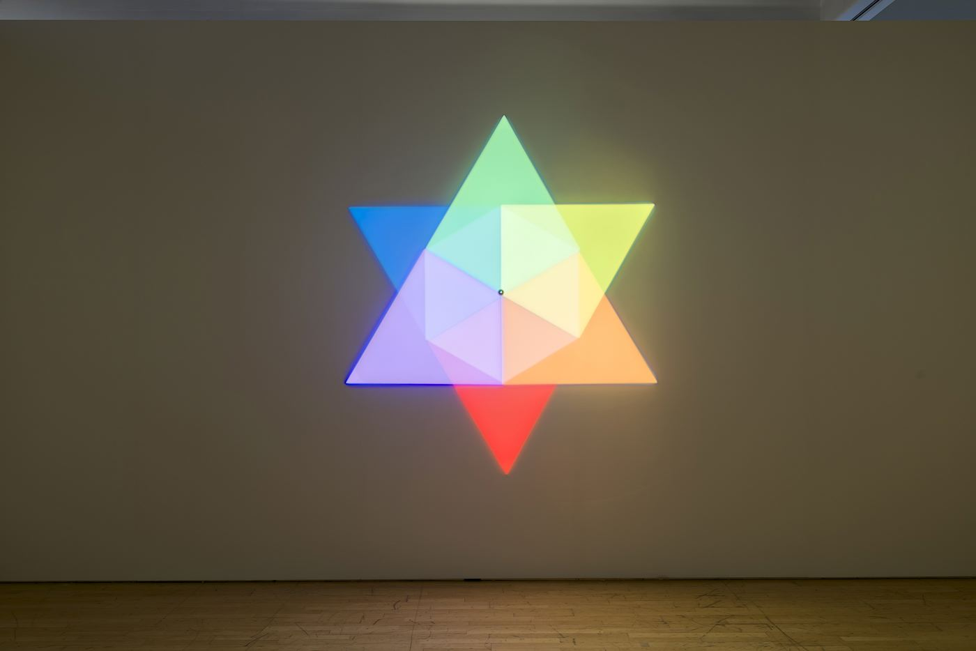Olafur ELIASSON Ephemeral afterimage star 2008 sev...