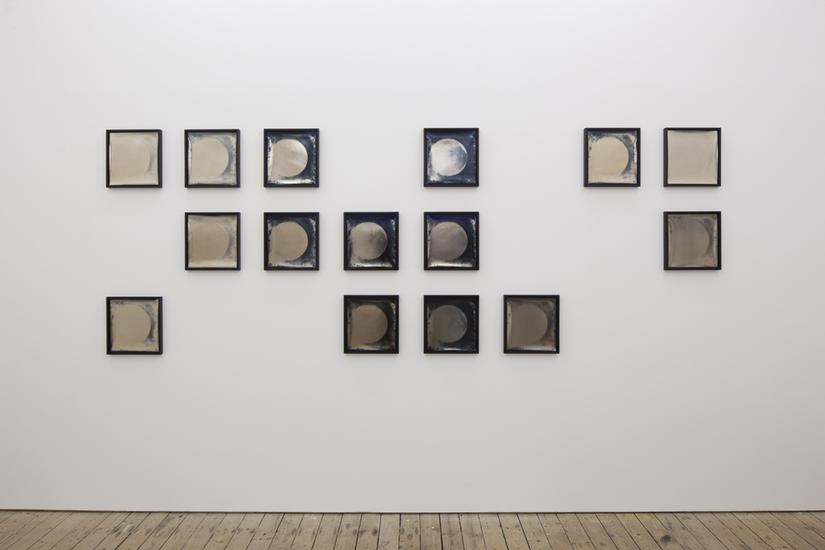 Lisa Oppenheim Heliograms 1876/2011, 2011 Toned ph...