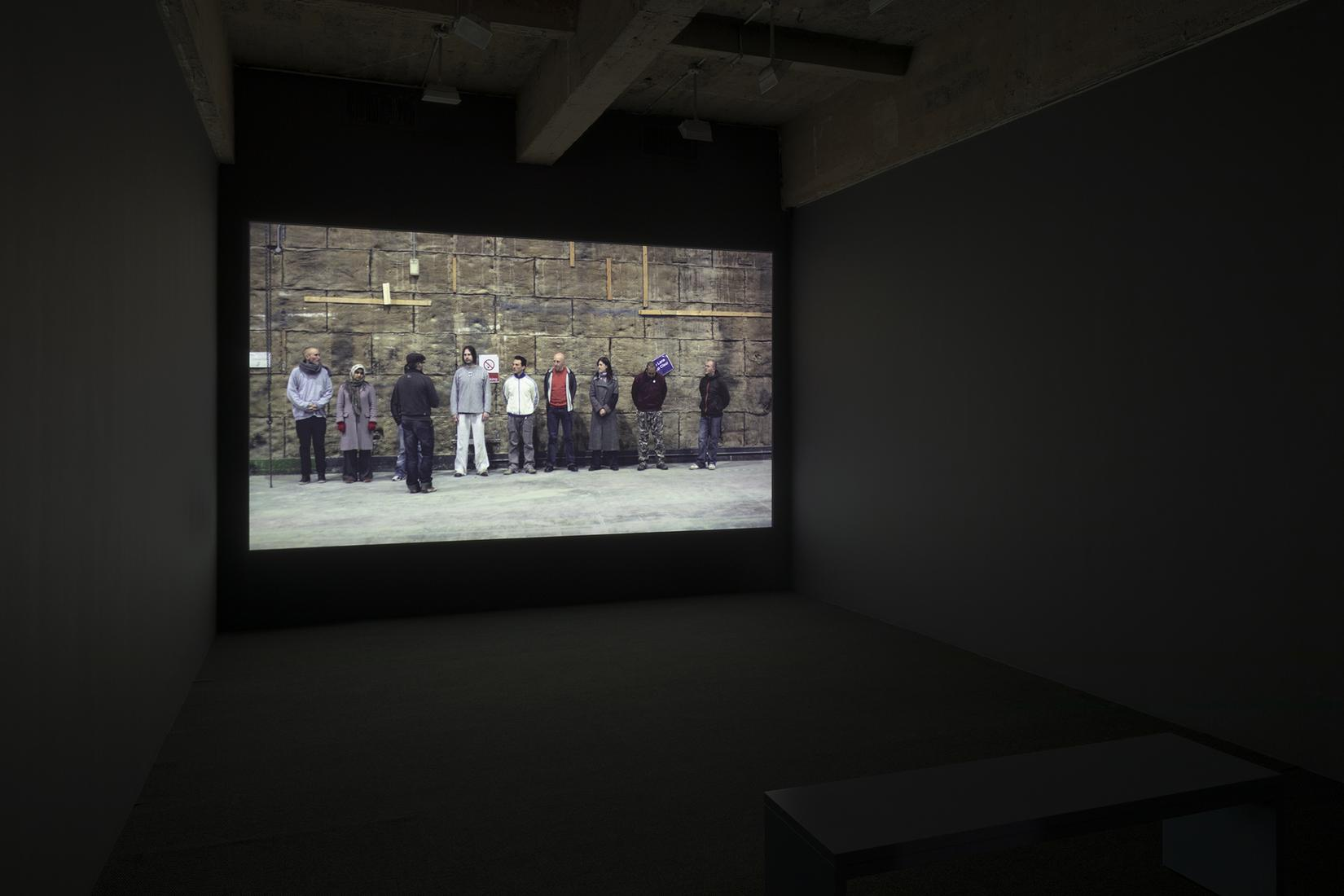 """This is a installation image of """"Songs in the Dark..."""