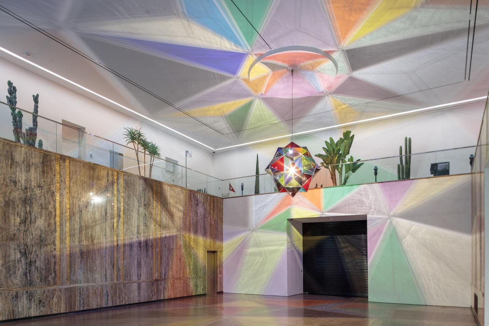 March 1 — August 26, 2018 - Marciano Art Foundation, Los Angeles - OLAFUR ELIASSON: REALITY PROJECTOR -  - Exhibitions