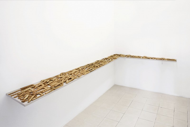 25 September - 26 November 2012 - Pigna Project Space, Rome - Nicole Wermers: Food in Space - Exhibitions