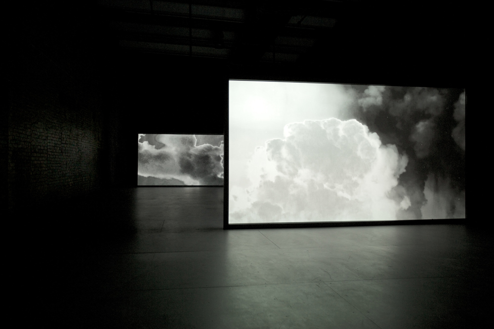 Lisa Oppenheim Smoke, 2013 Two channel video, loop...