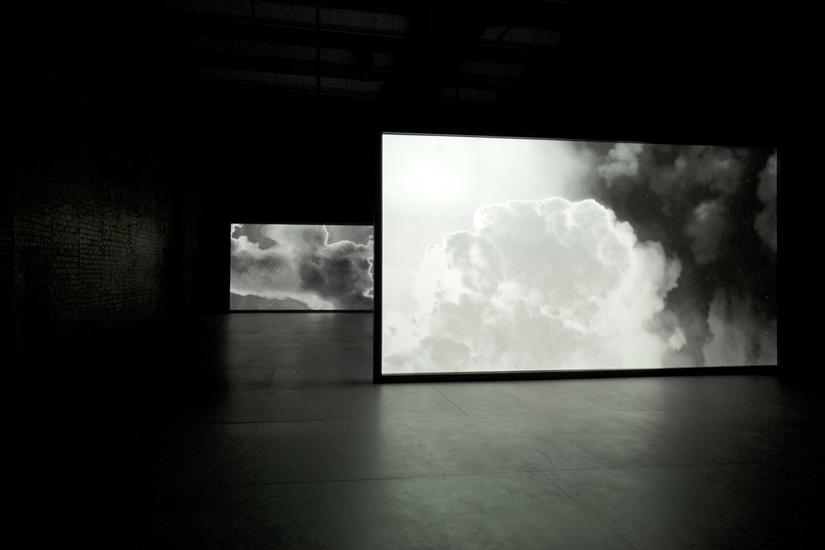 Lisa Oppenheim Smoke, 2013 Two channel video, loop...