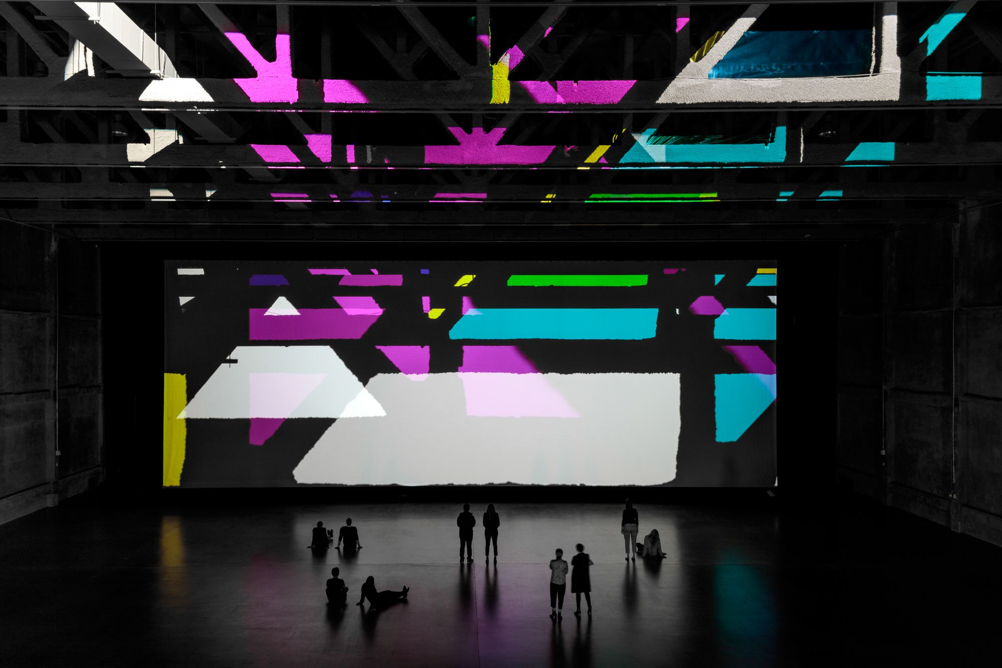 Olafur ELIASSON Reality projector 2018 colour filt...