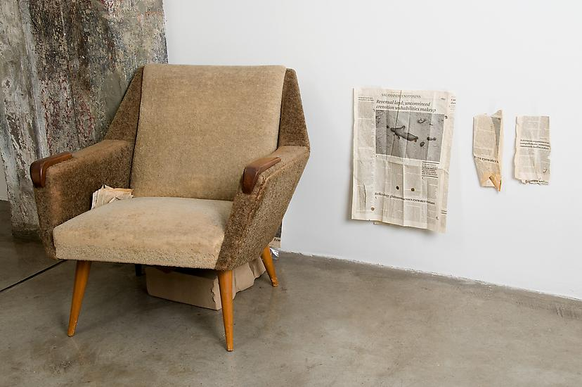 Mark Manders Room with Chair and Factory 2003-2008...