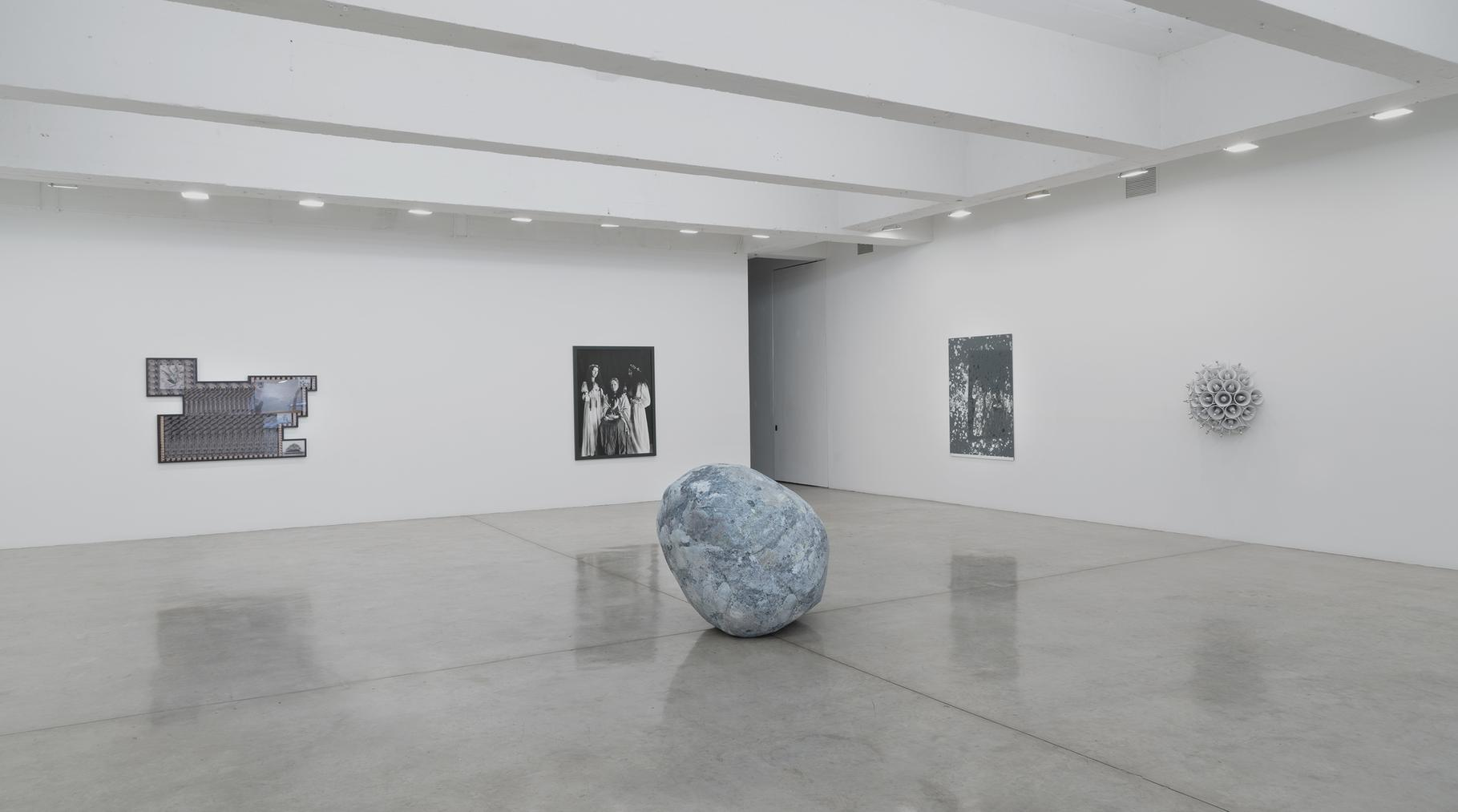 Installation view of The Return of the Real