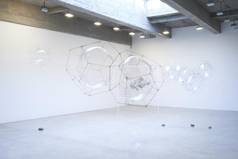26 March - 2 May 2015 - Hybrid solitary... semi-social quintet... on cosmic webs... - Tomas Saraceno -  - Exhibitions