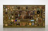 Jeffrey VALLANCE The Brown Wall 2009 Mixed media w...