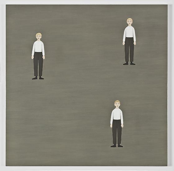 Rita Lundqvist Three boys (Tre pojkar) 2009 oil on...