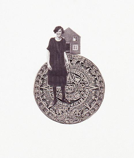 Peggy PREHEIM Cut the knife 2009 pencil and bankno...
