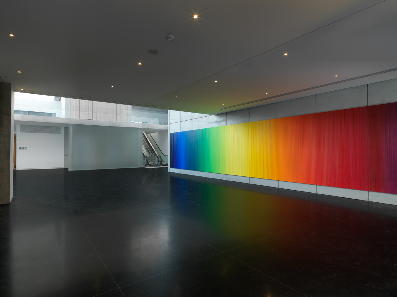 Olafur ELIASSON Whenever the rainbow appears 2010...