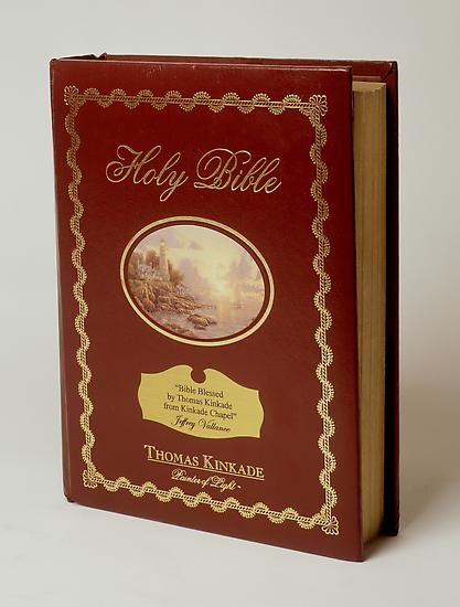 Jeffrey VALLANCE Bible Blessed by Thomas Kinkade (...