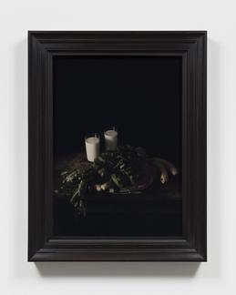 """This is an image of Mat Collishaw's work """"Frank Mc..."""