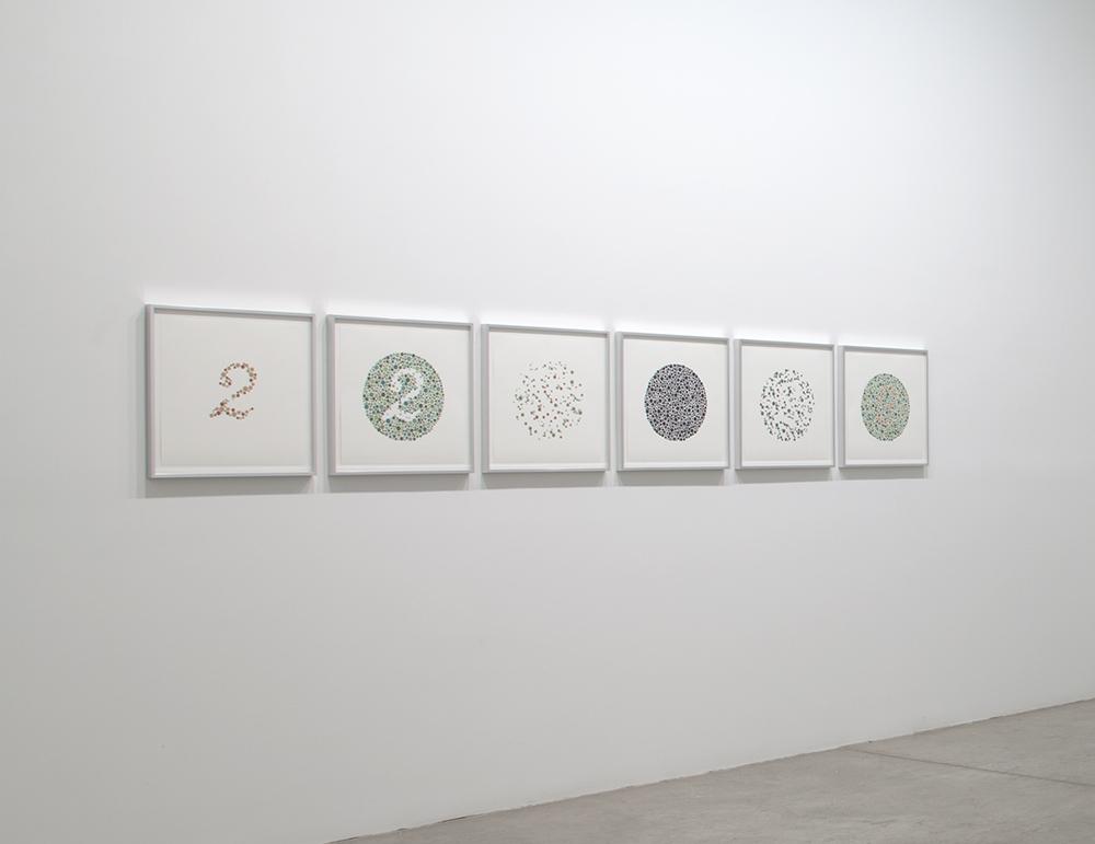 Sarah SZE 2 2011 set of 6 prints, sillkscreen on C...