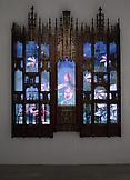 Mat COLLISHAW Gomoria 2012 wooden shrine, LED scre...
