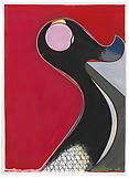 Thomas SCHEIBITZ GP 165 2012 Vinyl, pigment marker...