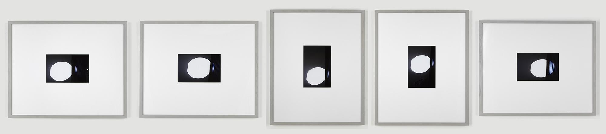 Martin BOYCE Projectile Sun 2013 Giclee prints set...