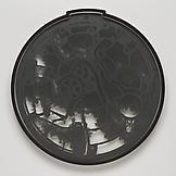 Analia SABAN Pocket Watch #2 2013 graphite on lase...