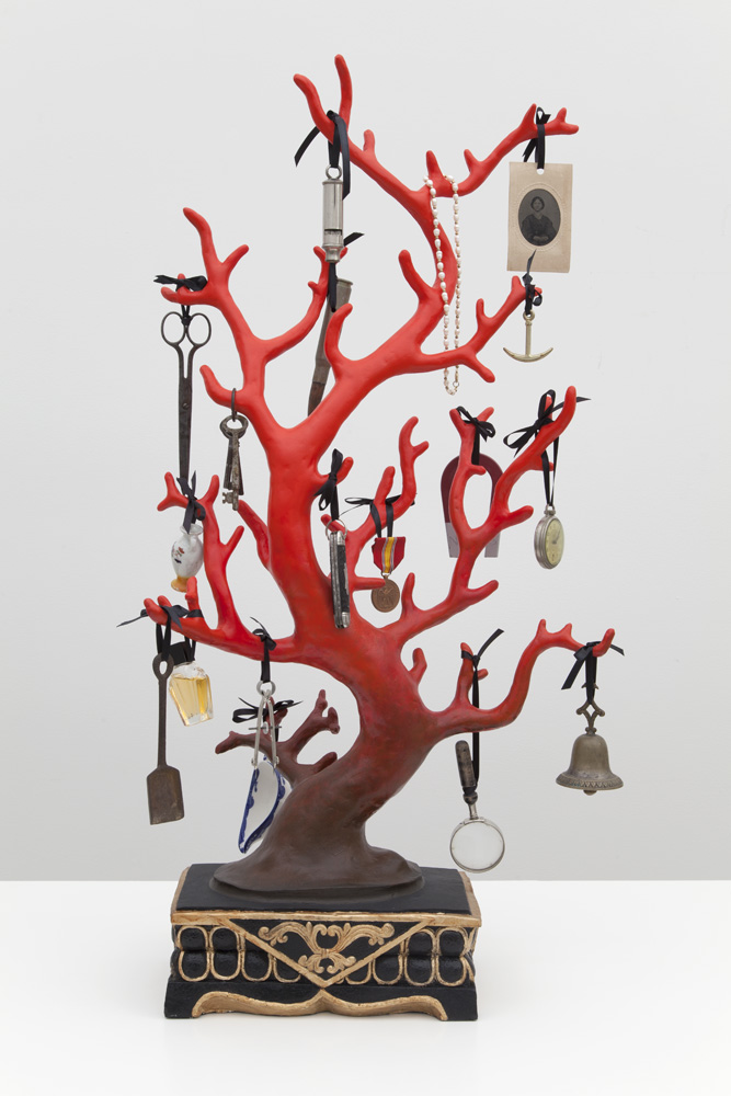 Mark DION Blood Red Coral 2013 resin and assorted...