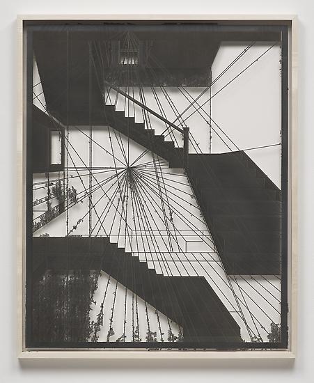 Analia SABAN Erosion (Staircase) #2 2013 graphite...