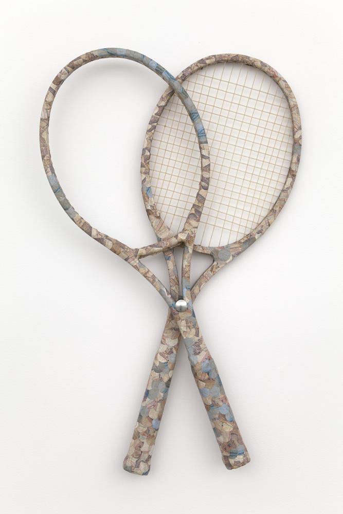 Meschac GABA Le Jeu (The Game) 2012 1 pair of tenn...