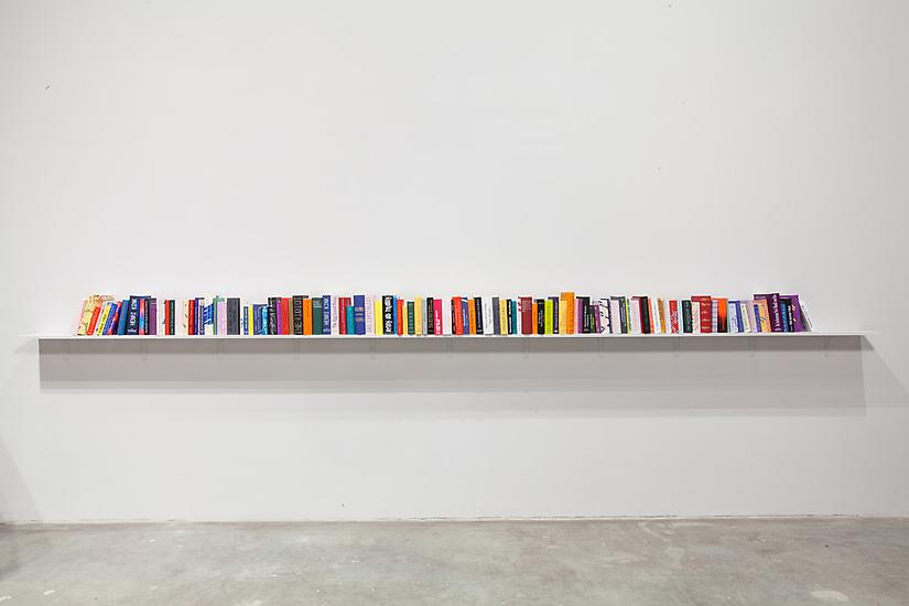 Agnieszka KURANT Phantom Library 2011-2012 embosse...