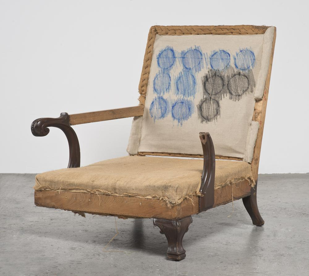 Analia SABAN One-Armed, Three-Legged Chair (with C...