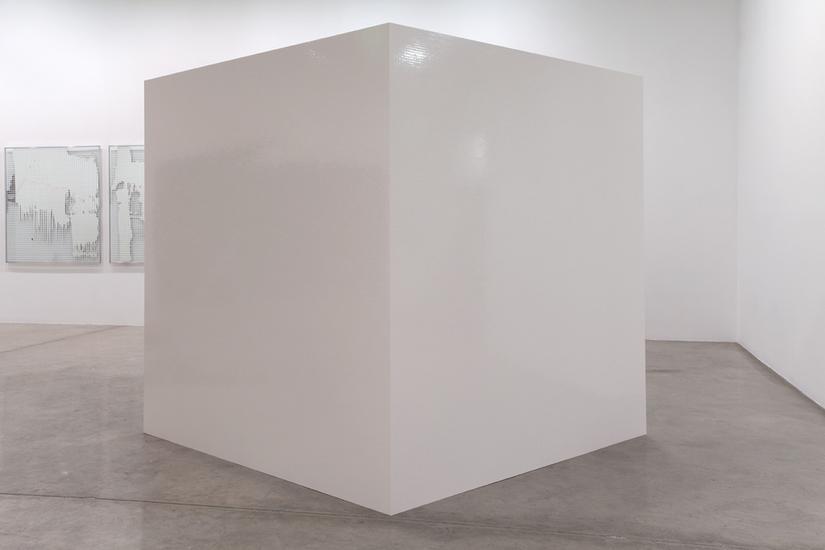 Mchael WILKINSON Citadel 2014 white lego 78 3/4 x...