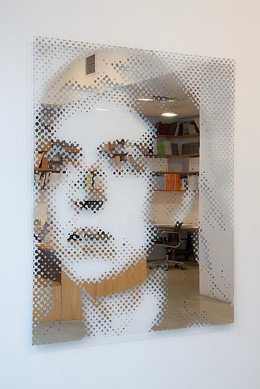 Michael WILKINSON Ingeborg 2014 etched mirror, alu...