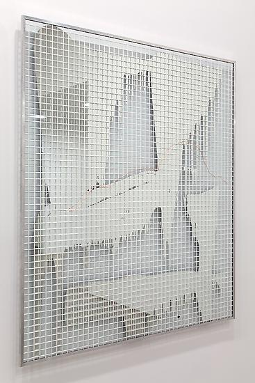 Michael WILKINSON Real Abstraction (mirror) 7 2014...