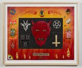 The Devil 2012 enamel on paper 16 x 20 inches; 40....