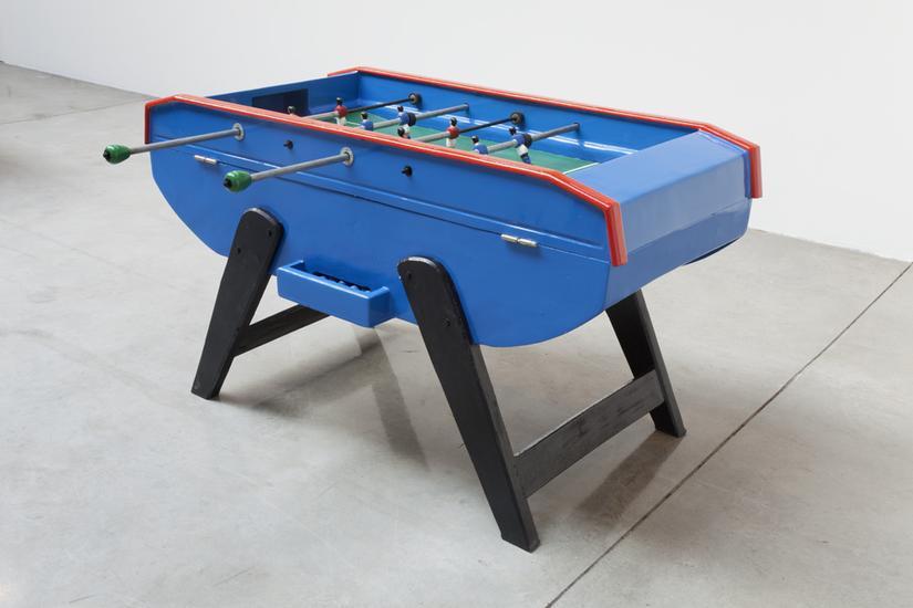 Meschac GABA Collaboration 2014 foosball table; oi...