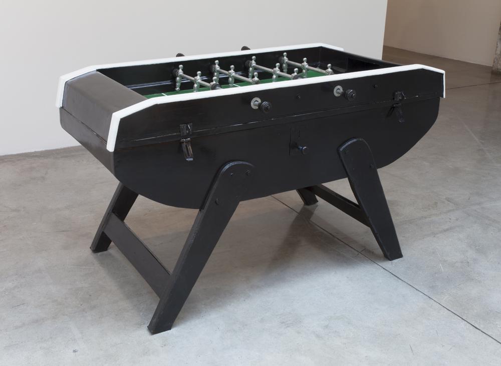 Meschac GABA Unity 2014 foosball table; oil paint,...