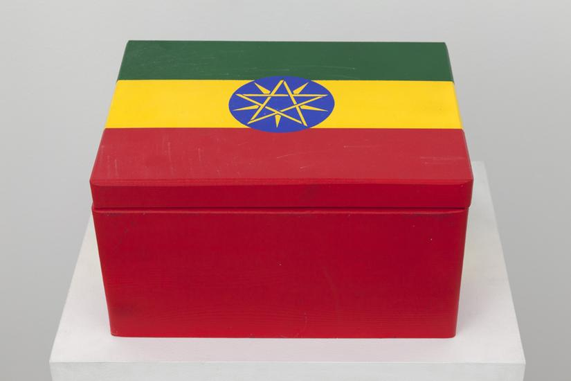 Meschac GABA Souvenir Palace: Large box 1 2014 woo...