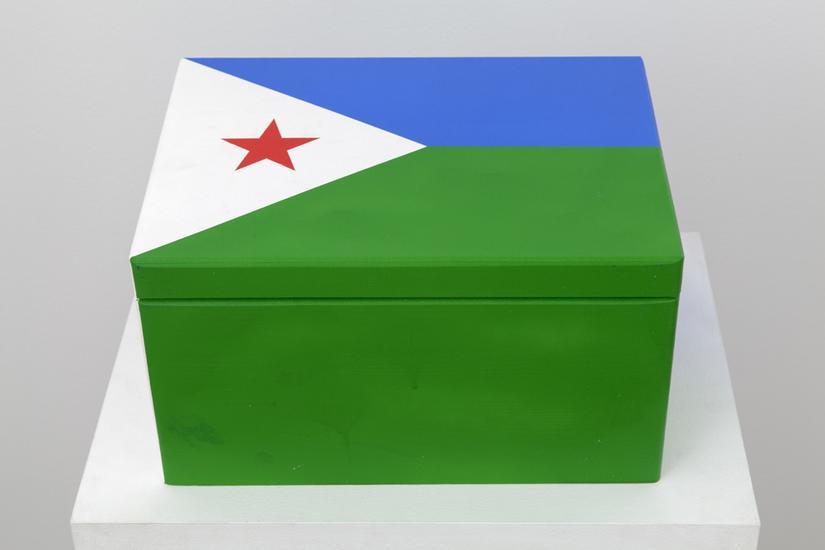 Meschac GABA Souvenir Palace: Large box 2 2014 woo...