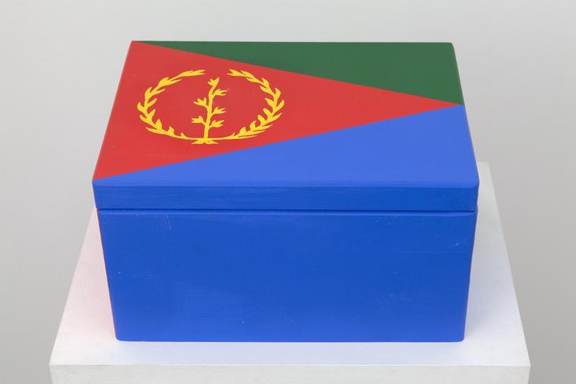 Meschac GABA Souvenir Palace: Large box 3 2014 woo...